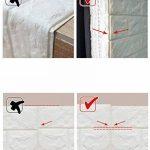 """10 Pieces PE mousse 3D brique de pierre Win-Y DIY Auto-Adhésif Autocollants Imperméable Papier Stickers muraux Autocollants Décor mur Stickers carrelage gaufrée Wall Stickers 23.6""""x23.6"""" de la marque Win-Y image 4 produit"""