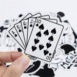 100 autocollants stickers Noir et Blanc fun pour smartphone, auto, ordinateur, casque, skate de la marque France en Stock image 2 produit