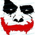 """100 x 83 cm) en vinyle """"visage Scary Joker Why So Serious?""""): film Batman The Dark Knight-Sticker Mural Décoration Amovible sans hasard en cadeau! de la marque AnOL image 2 produit"""