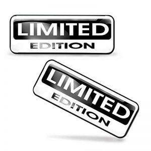 2x Autocollants 3d gel résine stickers rigolo Limited Edition pour voiture moto finestrìno Porte Casque Scooter Skateboard vélo PC Ordinateur Portable Tablette tuning et 143 de la marque Skino image 0 produit