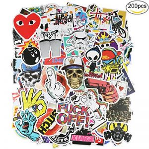 200pcs Autocollant, PAMIYO Sticker voiture vinyle Stickers Retro Stickers de la marque PAMIYO image 0 produit