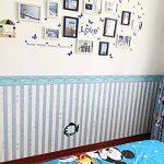 3.94en. X 10m. Tour de taille Sticker mural de cuisine salle de bain Chambre à coucher Salon étanche Autocollant Frise pour papier peint Sticker mural de décoration de chambre de la marque Yenhome image 2 produit