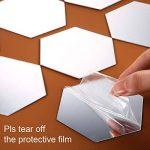 32 Pièces Miroir Acrylique Amovible Sticker Mural Décalque Décoration de la Maison (Style 2) de la marque Shappy image 2 produit