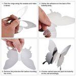 36 Pièces DIY Miroir Papillon Combination 3D Autocollants Muraux Miroir Stickers Décoration de la Maison de la marque BBTO image 2 produit