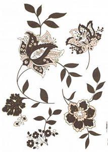 """'Komar Deco de Sticker""""Jackie, 1pièce, marron, 17030h de la marque Komar image 0 produit"""