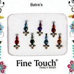 50Pierced paquets–Vente en gros bindis indien Pierced Stickers Multicolore Pierced visage Bijoux indien Tika de la marque Fine-Touch image 3 produit