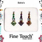 50Pierced paquets–Vente en gros bindis indien Pierced Stickers Multicolore Pierced visage Bijoux indien Tika de la marque Fine-Touch image 4 produit