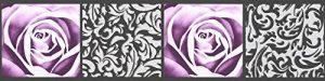 A.S. Création Frise murale autocollant Stick Ups noir poupre 5,00 m x 0,13 m 901910 de la marque A-S-Création image 0 produit