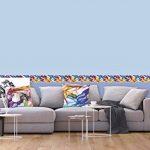 AG Design WB 8201 Autocollant Mural PVC Film, Multicolore, 5 x 0,14 m de la marque AG-Design image 2 produit