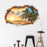 Aide à domicile Sticker mural Paysage de vacances Sticker amovible Maison Salon Décoration pour enfants de la marque Payonr image 3 produit