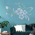 Alicemall Stickers Arbre Mural 3D Autocollants en Acrylique pour Décoration de la Maison (style 2(feuilles rouges vers gauche)) de la marque Asvert image 2 produit
