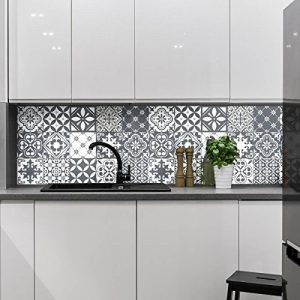 Ambiance-Live Carreaux de Ciment adhésif Mural - azulejos - 15 x 15 cm - 15 pièces de la marque Ambiance-Live image 0 produit