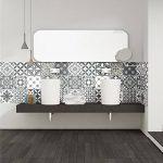 Ambiance-Live Carreaux de Ciment adhésif Mural - azulejos - 15 x 15 cm - 15 pièces de la marque Ambiance-Live image 1 produit
