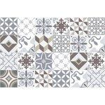 Ambiance-Live Carreaux de Ciment adhésif Mural - azulejos - 20 x 20 cm -24 pièces de la marque Ambiance-Live image 4 produit