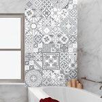Ambiance-Live Carreaux de Ciment adhésif Mural - azulejos - 20 x 20 cm - 60 pièces de la marque Ambiance-Live image 1 produit