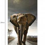 Ambiance-Live Sticker Porte 204 x 83 cm - Eléphant de la marque Ambiance-Live image 2 produit