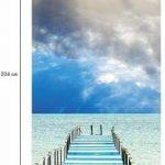 Ambiance-Live Sticker Porte 204 x 83 cm - Ponton de la marque Ambiance-Live image 1 produit