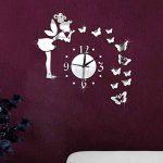 Amovible Ange Papillon Miroir Mur Stickers Sticker Art Pvc Maison Chambre Decoratio de la marque Dinglong Stickers Muraux image 1 produit