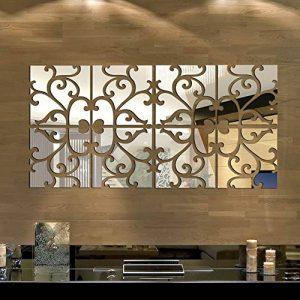 Anself Miroir Autocollant Mural Amovible en Acrylique pour Décorer la Maison de la marque Anself image 0 produit
