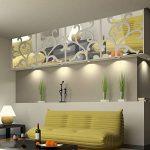Anself Miroir Autocollant Mural Amovible en Acrylique pour Décorer la Maison de la marque Anself image 4 produit