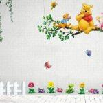 Aokeshen 23.23*9.06inches Winnie l'ourson sticker mural amovible réutilisable pour Enfants / Garçons / Filles / Décoration/Maison/Chambre à coucher etc en PVC de la marque ZuoLan image 2 produit