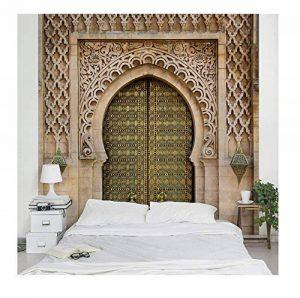 Apalis 95427 Papier peint intissé motif porte orientale, grand format, Beige, beige, 192 x 192 cm de la marque Apalis image 0 produit