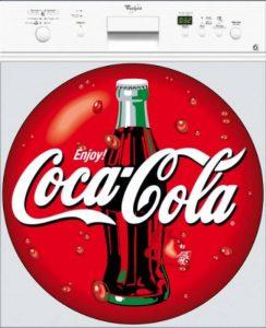 Art déco Stickers - Sticker Lave Vaisselle Coca Cola - 101 - 60x60cm de la marque Art déco Stickers image 0 produit