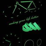 ARTGEAR Glow in the Dark Tape, Vert Lumineux Ruban Adhésif Autocollant, Ruban Phosphorescent, Fluorescente Nuit Autocollant, Amovible, Imperméable à L'eau, Photoluminescent, 10M x 1CM (Vert) de la marque ARTGEAR image 4 produit