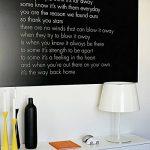 ARTISTORE 2 Pcs Tableau Autocollant Noir/Blanc, Stickers Muraux pour Tableau Noir Confortable, Pratique, avec 5 Craies de la marque ARTISTORE image 3 produit