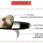 Asvert Stickers Muraux 3D Autocollants pour Fenêtre Murale Décoration Chambre Salon (Style 2(Feuilles Vertes foncé et Clair vers Gauche)) de la marque Asvert image 2 produit