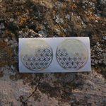 autocollant fleur de vie, 5cm, 50 pièces de la marque KLSE.Europe image 3 produit