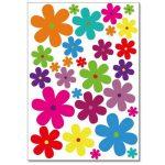 autocollant fleur TOP 2 image 1 produit