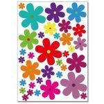 autocollant fleur TOP 2 image 2 produit