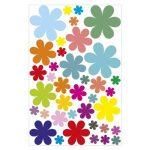 autocollant fleur TOP 3 image 2 produit