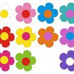 autocollant fleur TOP 6 image 4 produit