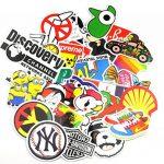 Autocollant Lot [150-pcs] Graffiti Autocollant Stickers vinyles pour ordinateur portable, enfants, voitures, moto, vélo, Skateboard bagages, Bumper Stickers hippie autocollants Bomb étanche... de la marque Neuleben image 1 produit