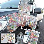 Autocollant Lot 200pcs Xpassion Sticker Factory Graffiti Autocollant Stickers vinyles pour ordinateur portable enfants voitures moto vélo Skateboard bagages Bumper Stickers hippie autocollants Bomb ét de la marque Xpassion image 3 produit