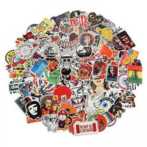 Autocollant Lot 200pcs Xpassion Sticker Factory Graffiti Autocollant Stickers vinyles pour ordinateur portable enfants voitures moto vélo Skateboard bagages Bumper Stickers hippie autocollants Bomb ét de la marque Xpassion image 0 produit