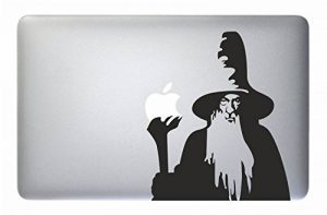"Autocollant Macbook Magicien-the Lord of the Rings Gandalf-Apple Macbook Laptop Sticker Vinyl Decal Mac Pro Air Retina 13"" 15"" 17"" pouces Cover Skin Frodo Stickers 15"" - 17"" MACBOOK de la marque Sardegna-Services image 0 produit"