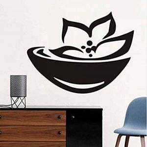 Autocollant mural de signe de spa asiatique et symbole Stickers muraux Lotus Wallpaper 76 * 58cm de la marque XINTIAO image 0 produit
