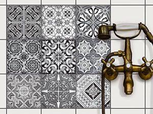 autocollant mural salle de bain TOP 0 image 0 produit