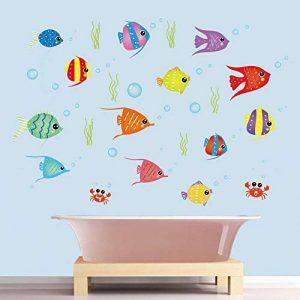autocollant mural salle de bain TOP 10 image 0 produit