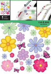 Autocollants voiture Autocollants Fleurs de la marque Car Bike decoration image 0 produit