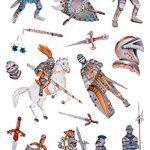 Avery Zweckform Glitter Stickers, Ritter, 14motifs, multicolore, 14pièces de la marque AVERY-Zweckform image 2 produit