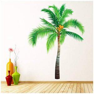 azutura Palmier Arbres tropicaux Sticker Muraux Disponible en 8 Tailles Gigantesque Numérique de la marque azutura image 0 produit