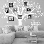 BDECOLL Géant de décorations d'arbre de photos de stickers arbre blanc bebe ( le cadre photo non inclus) de la marque BDECOLL image 2 produit