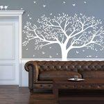 BDECOLL Grand sticker mural pour salon chambre Stickers muraux de décoration,Chambre Autocollant Mural Oiseaux Accueil Decal Mural Art Decor de la marque BDECOLL image 3 produit