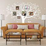 BDECOLL Grand sticker mural pour salon chambre Stickers muraux de décoration,Chambre Autocollant Mural Oiseaux Accueil Decal Mural Art Decor de la marque BDECOLL image 1 produit