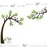 BDECOLL Stickers muraux,Arbre Mignonne Koalas Sticker mural pour bébé chambre décoration/autocollant bricolage pour les enfants de la marque BDECOLL image 4 produit