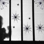BESTOYARD Autocollants de fenêtre de Toile d'araignée d'halloween pour Les décalques de Mur de Partie de Club de Barre de pièce (Noir) de la marque BESTOYARD image 4 produit